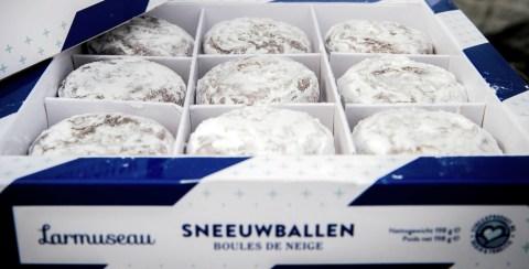 sneeuwballen, snowballs, gent