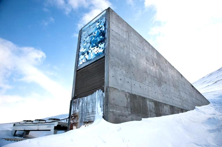 svalbard, seed vault, seed bank, norway