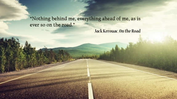 on the road, quote, kerouac