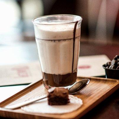 Quetzal Chocoladebar, chocolate milk