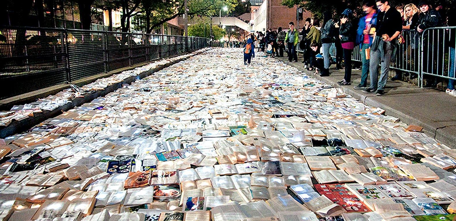 Literature vs. Traffic, Toronto